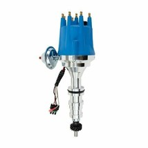 Ford Fe V8 Pro Series Distributor Ready to Run Blue image 1