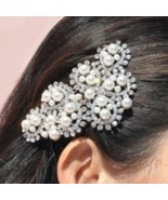 New - Crystal & Pearl Hair Comb. Was $23 Now $15 - $15.00
