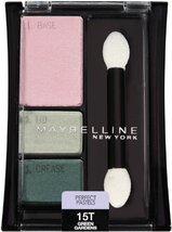 Maybelline New York Expert Wear Eyeshadow Trios, Perfect Pastels 15T Gre... - $7.91