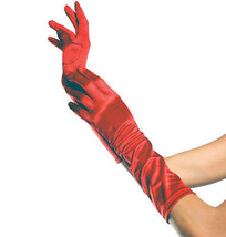 Gloves Elbow Length Red  Costume Accessories - $15.02