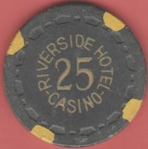 $25 Casino Chip, Riverside, Reno, NV. 1950. K09. - $16.95