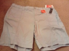 Lee Comfort Fit Bermuda Blue Stretch Shorts women's plus size 20 Or 22w NEW nwt - $18.73