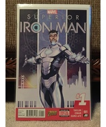 Superior Iron Man # 1 - 9, Invincible Iron Man # 1 (Marvel lot of 10) - $26.50