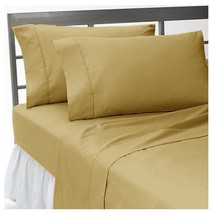TAUPE SOLID 1000TC SOFT EGYPTIAN COTTON COMPLETE BEDDING SETS UK-SIZES - $65.31+