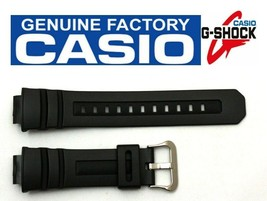 CASIO G-Shock AWG-M100A 16mm Black Rubber Watch BAND AWG-M100B AWG-M100F - $33.95