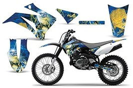 2008 2013 Yamaha Ttr 125 Amrracing Atv Graphics Decal Kit Iron Maiden Lad - $158.35