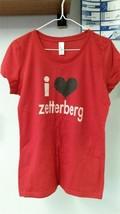 """NHL Detroit Red Wings """"I Heart Zetterberg""""  Youth Girl's Tee - $22.09"""