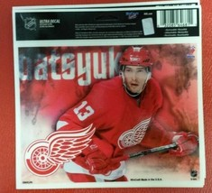 "NHL Detroit Red Wings Pavel Datsyuk Multi-Use Colored Decal 5"" x 6"" - $8.81"