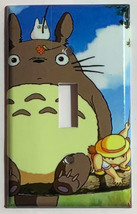Totoro Fishing Light Switch Outlet Toggle Rocker Wall Cover Plate Home decor