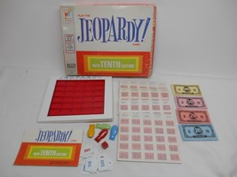 Old Vintage 1964/1972 PLAY THE JEOPARDY GAME #4457 Tenth Edition COMPLETE - $19.79