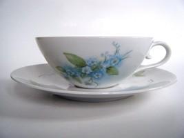 Bareuther Bavaria Porcelain Forget Me Not Patte... - $9.85