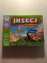 Kids Create Insect two pack 3d models New in box Puzzle Craft Kit - $8.72