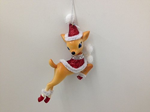 "Department 56 Reindeer Tales Vixen Ornament - 4"" x 3"""