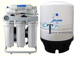 RO Light Commercial Reverse Osmosis Water Filter System 300 GPD- Booster... - $278.53