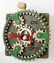 Green Tree Jewelry Single Planetary Grey & Green Wood Light Switch Plate... - $29.99