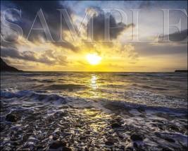Ocean Sunset Photograph 8X10 New Fine Art Color Print Picture Photo Natu... - $7.95