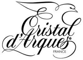 Cristal d'Arques Beauregard 24% Lead Crystal Vase 17 Cm / 6.5 In. - $49.99