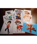 9 Paw Patrol Inspired Stickers, Party Supplies,Labels, Favors, Decorations - $8.99
