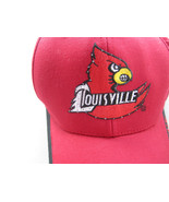 Louisville Cardinals Fiber Optic Light Up Hat Cap NCAA Adjustable RARE - $15.83