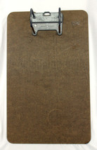 Vintage Clipboard w/ Metal Clip Paper Holder Ma... - $21.83