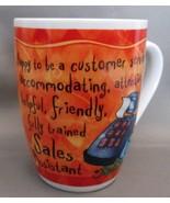 World's Greatest Golfer Porcelain Coffee Mug History and Heraldry - $5.90