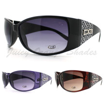 DG Womens Sunglasses Round Oversized Thick Designer Frame New - $9.95