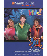 Smithsonian network SCI Q volume 2 DVD cool adventures in science and te... - $7.91