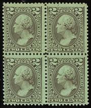 RB12a, Mint OG NH 2¢ Proprietary Block of Four Stamps Cat $65.00+ - Stua... - $45.00