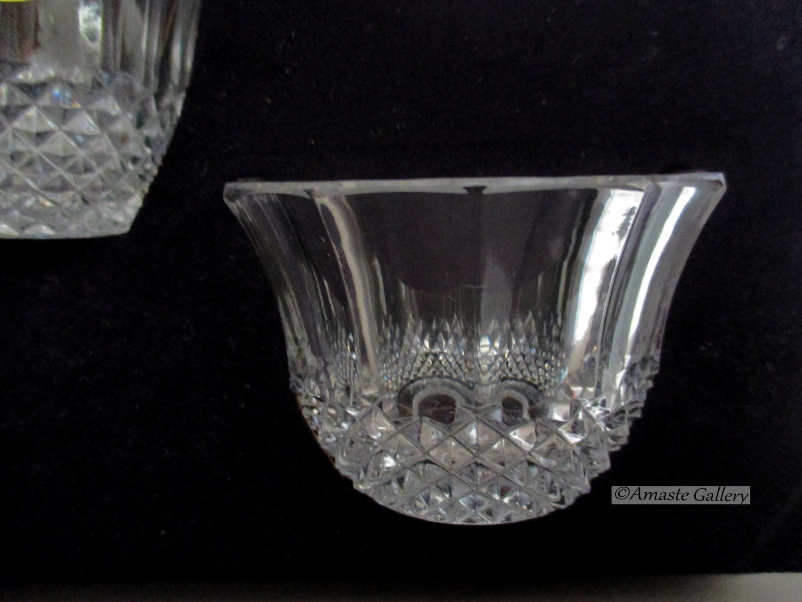Crystal Cream and Sugar Set NIB from the  European Collection W. Germany image 4