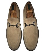 "KENNETH COLE ""Shutter Leaf"" Men's Taupe Suede Driver Horsebit Loafers 10... - $81.17"