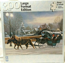 Heavenly Night 300 Piece Puzzle Large format edition Vintage 2003 New Sealed - $32.33