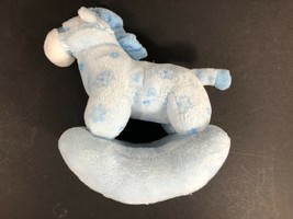 TY Pluffies Pluffy Baby  Blue Rocking horse    Plush - $5.40