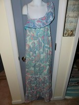 Justice Multi-Colored Paisley Maxi Dress Size 18 Gilr's EUC - $23.40