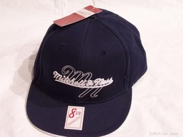 Mitchell & Ness Logo Black Fitted Cap Size 7-3/4 - $22.99