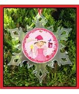 PINKALICIOUS CHRISTMAS ORNAMENT - X-MAS SNOWFLAKE ORNAMENT  - $12.95