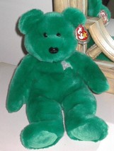 "TY BEANIE BUDDIES RETIRED 13"" ERIN SHAMROCK BEAR MINT CONDITION 1998 MINT - $19.99"
