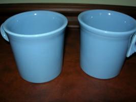 Vintage OOP ~ 2 Mugs ~ Periwinkle Blue 1989 - 2006 - $9.99