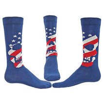 AMERICAN SKULL Fashion Novelty Cotton Mens Crew Socks casual USA - $14.99