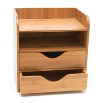 Lipper International Bamboo 4-Tier Desk Organizer, Brown - $29.99