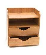 Lipper International Bamboo 4-Tier Desk Organizer, Brown - $29.99