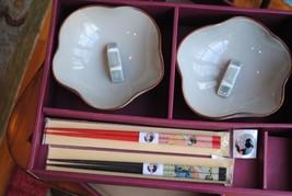 China Bowl Set with ChopSticks - $8.79