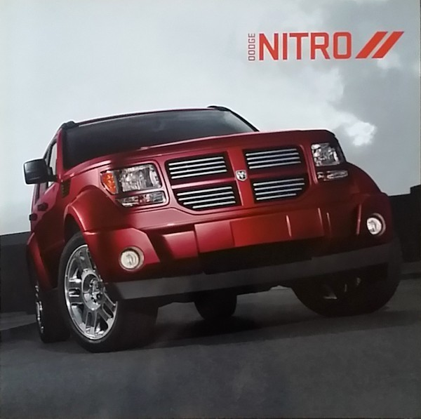 Primary image for 2011/2012 Dodge NITRO sales brochure catalog 12 Heat R/T