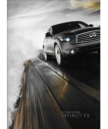2012 Infiniti FX specifications brochure catalog 12 FX35 FX50 accessories - $8.00