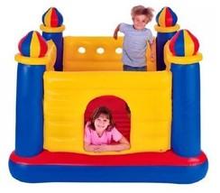 INTEX Inflatable Jump-O-Lene Ball Pit Castle Bouncer w/ 100 Play Balls K... - £228.23 GBP