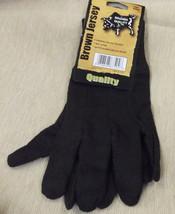 PIP Consumer Large Brown Jersey Gloves 1 Dozen #WA7524A UPC:078898875246 - $8.91