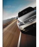 2012 Infiniti EX specifications brochure catalog 12 EX35 Journey accesso... - $8.00