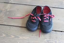 Vans Toddler Shoes Size US 5.0 Black Pink - $24.75