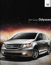 2012 Honda ODYSSEY sales brochure catalog US 12 EX EX-L Touring Elite - $6.00