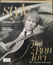 Jon Bon Jovi, Roseanne Barr, Dian Von Furstenberg Style Magazine Fall 2015 - $5.95