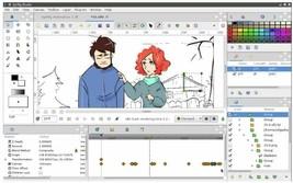 Synfig Pro 2D Cartoon Animation Studio Software FAST! 3.0 USB Windows Ma... - $4.99+
